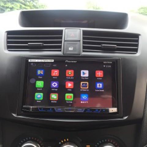 Đầu DVD ô tô cho xe Mazda bt 50