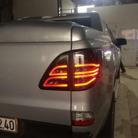 Mazda BT50 Độ Đèn Hậu Nguyên Bộ