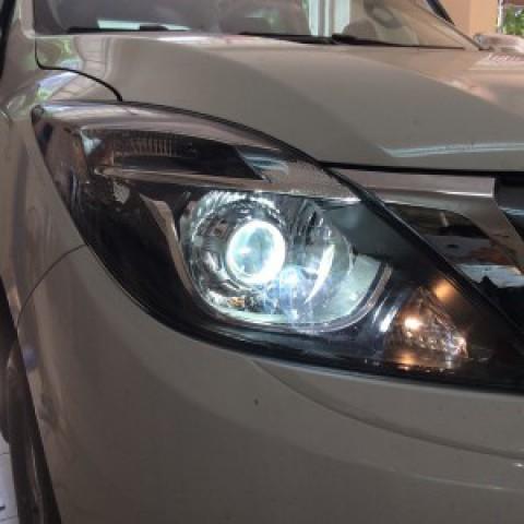 Mazda BT50 2017 độ bi Hella 5 thế hệ 2