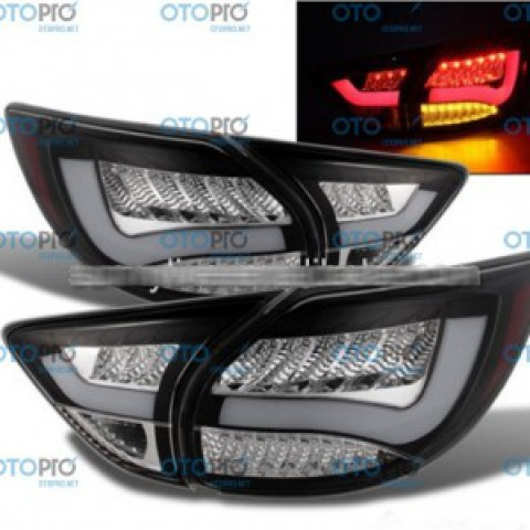 Đèn pha LED nguyên bộ cho xe Mazda CX-5 mẫu BMW màu khói