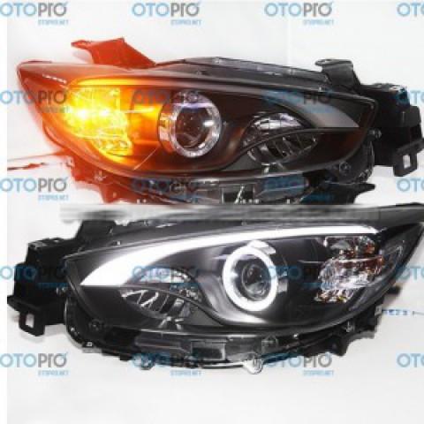 Đèn pha LED nguyên bộ cho xe Mazda CX-5 mẫu LF