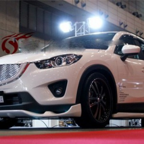 Body lip cho xe Mazda CX5 mẫu DG