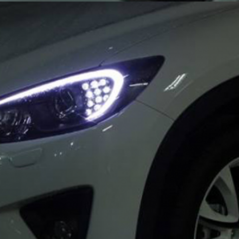 Độ đèn pha cho Mazda CX5 mẫu 115 04