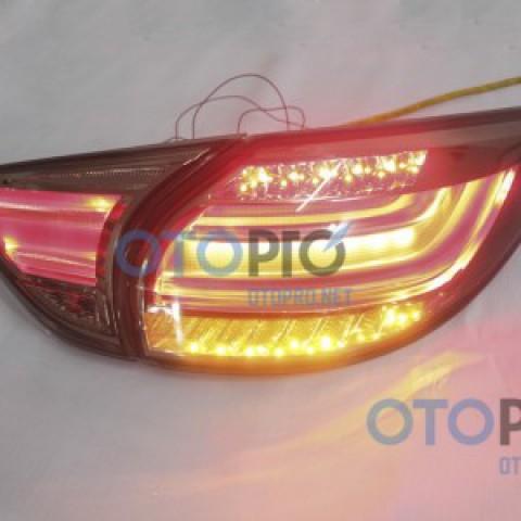 Đèn hậu độ LED nguyên bộ cho xe CX5 mẫu khói