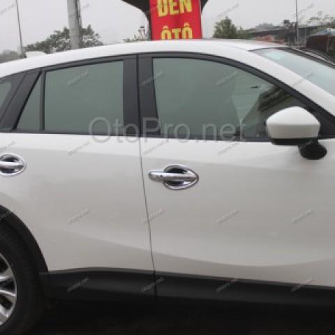 Ốp hõm tay nắm cửa mạ crom cho xe Mazda CX5