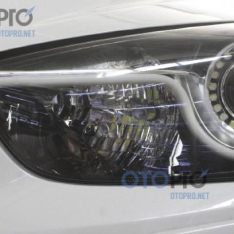 Lắp bóng đèn LED daylight siêu sáng P13W xe Mazda CX5