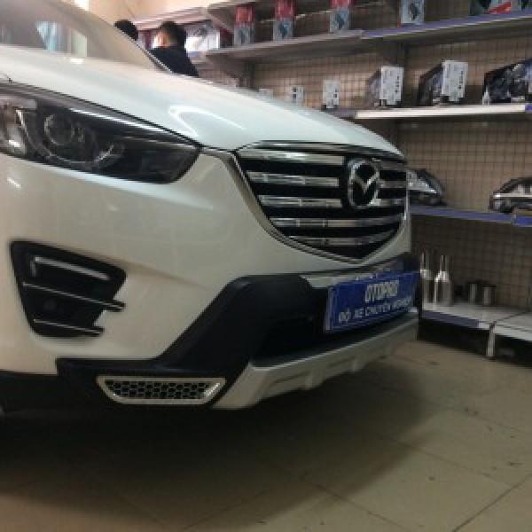 Mazda Cx5 2017 ốp mắt ca lăng và cản trước sau