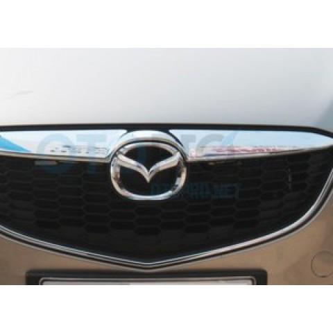 Ốp mặt ca lăng mạ Crom cho xe Mazda CX 5