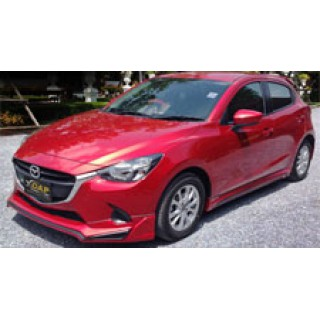 Body Kits Mazda 2 (2015) Mẫu Sport Racing 5 Cửa