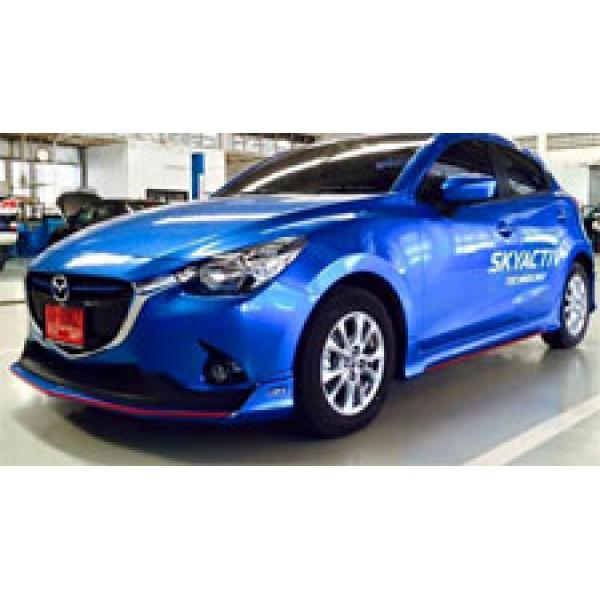 Body Kits Mazda 2 (2015) Mẫu FreeForm FM 5 Cửa