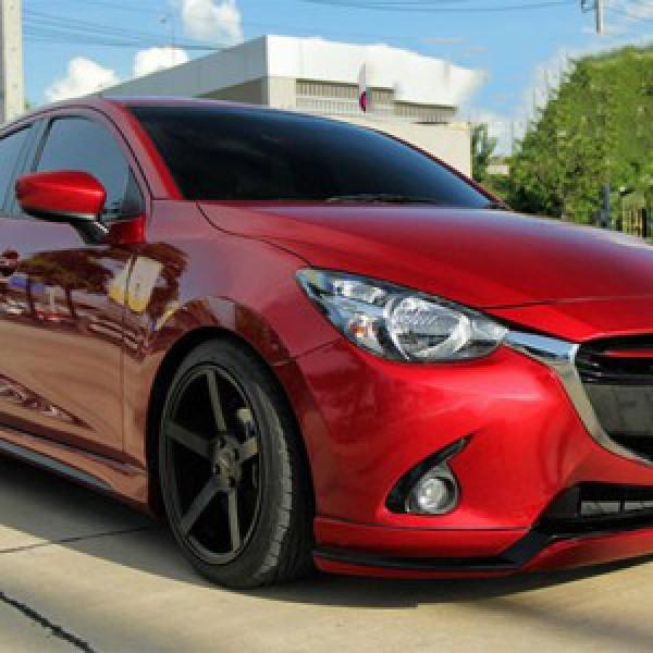 Body Kits Mazda 2 (2015) Mẫu Atiwus  5 Cửa