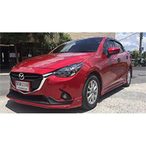 BodyKits Mazda 2 2015 Mẫu Freeform FM 4 cửa