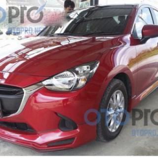 Bodylips cho xe Mazda 2 2015 Sedan mẫu Minos