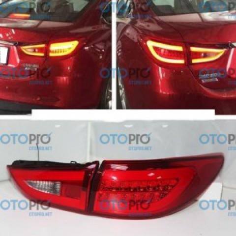 Đèn hậu độ LED nguyên bộ cho xe Mazda Mazda 6 2015 All New