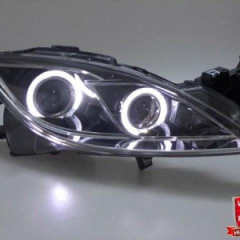Đèn pha độ LED nguyên bộ cho Mazda 6