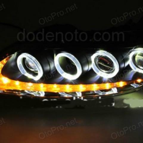 Đèn pha độ LED nguyên bộ cho xe Mazda 6 đời 2003-2013