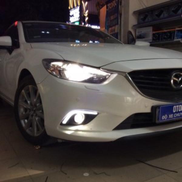 Mazda 6 lắp bi gầm