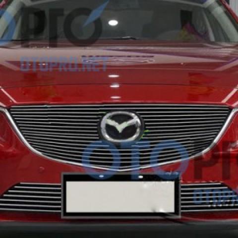 Mặt ca lăng kiểu thanh ngang cho xe Mazda 6 2015