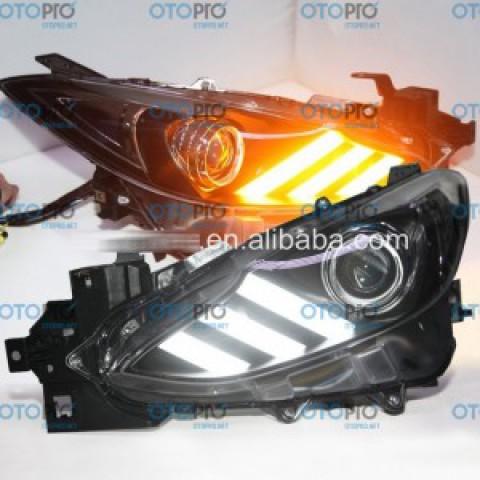 Đèn pha độ LED nguyên bộ cho Mazda 3 2015 All New mẫu Mustang