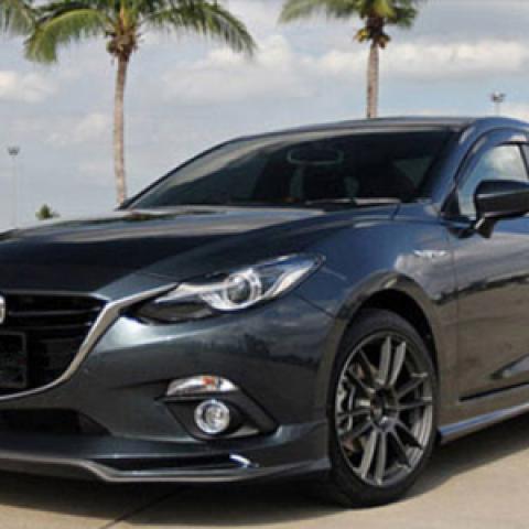 Bodylip cho Mazda3 All New 2015-2016 mẫu Ativus
