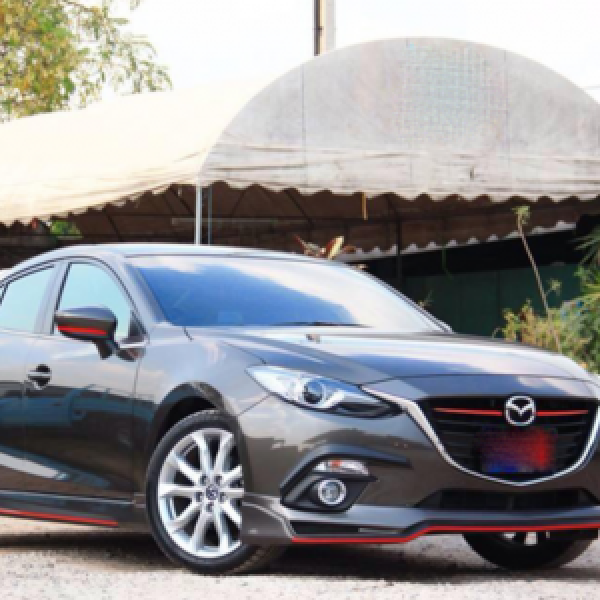Bodylips cho Mazda3 All New 2015-2016 mẫu Firewar