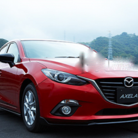 Bodylip trước cho Mazda3 All New 2015-2016 mẫu Speed