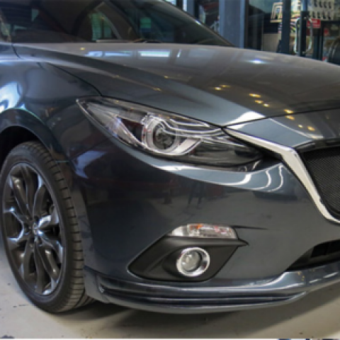 Bodylip cho Mazda3 All New 2015-2016 4 cửa mẫu Valiant