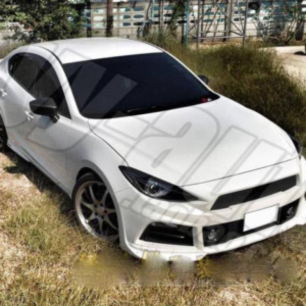 Bodykit đầu xe cho Mazda3 All New 2015-2016 mẫu Mustang