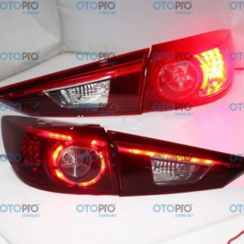 Đèn hậu OEM nâng đời từ 1.5 lên 2.0 cho Mazda 3 2015-2016 All New