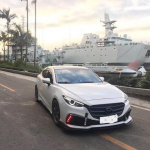 Bodykit Mazda 3 mẫu facelift 2017