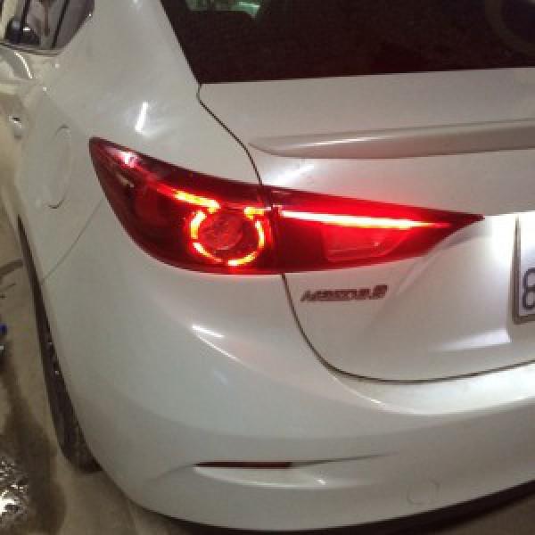 Mazda 3 Độ Đèn Pha Cùng Đèn Hậu Nguyên Bộ