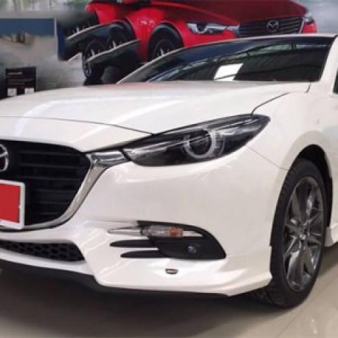 Bodylip cho xe Mazda 3 2017 sedan 4 cửa mẫu JAP