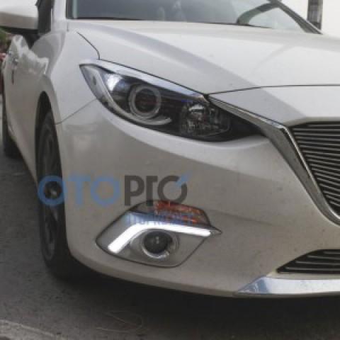 Đèn gầm độ cho xe Mazda 3 2014-2015 All New mẫu LED khối