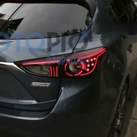 Độ đèn hậu LED khối cho xe Mazda 3 2014 – 2015 All New