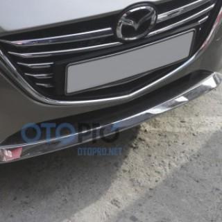 Ốp trang trí cản trước sau cho xe Mazda 3 All New 2015