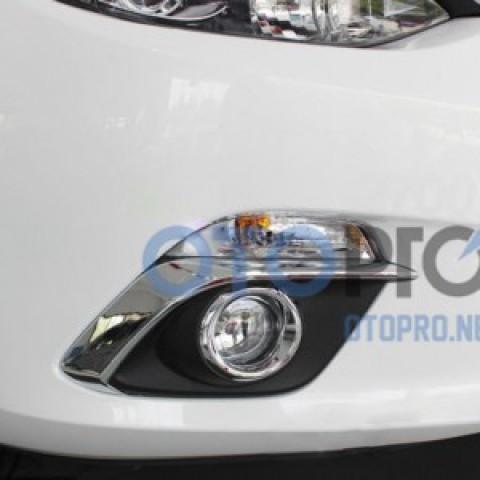 Ốp viền đèn gầm mạ crôm xe Mazda 3 All New 2015