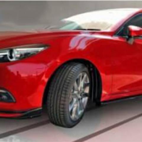 Bodylip cho xe Mazda 3 2017 sedan 5 cửa mẫu Speed
