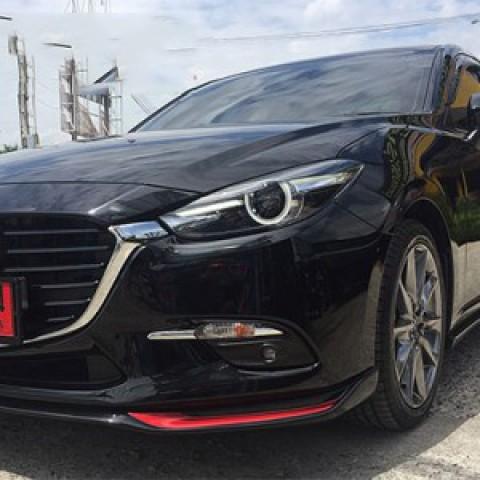 Bodylip cho xe Mazda 3 2017 sedan 4 cửa mẫu Speed