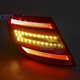 Đèn hậu LED nguyên bộ cho xe Mercedes C-Class w204 C180/C200/C230/C260 mẫu 2