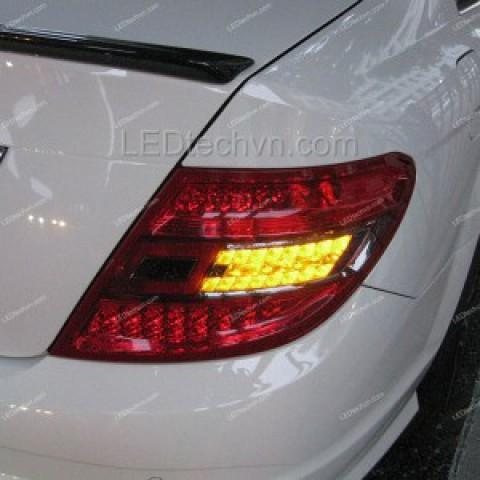 Đèn hậu LED nguyên bộ cho xe Mercedes C-Class w204 C180/C200/C230/C260 mẫu 3
