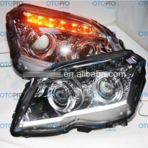 Đèn pha độ LED cho GLK260 GLK300 2011-2014 mẫu LF