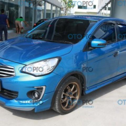 Bodylips cho Mitsubishi Attrage mẫu Sport-S Thái Lan