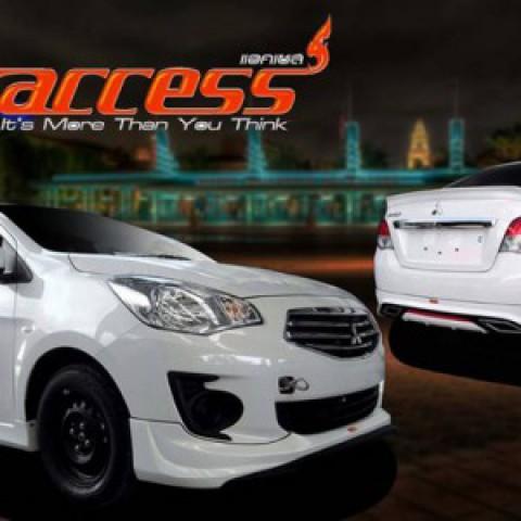 Bodylips cho Mitsubishi Attrage mẫu Access Thái Lan