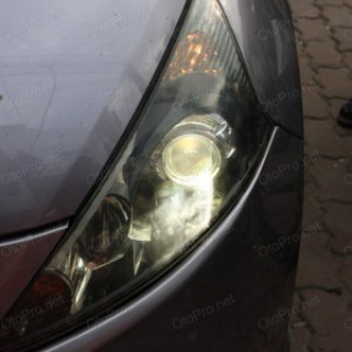 Độ đèn bi xenon, projector cho xe Mitsubishi Grandis