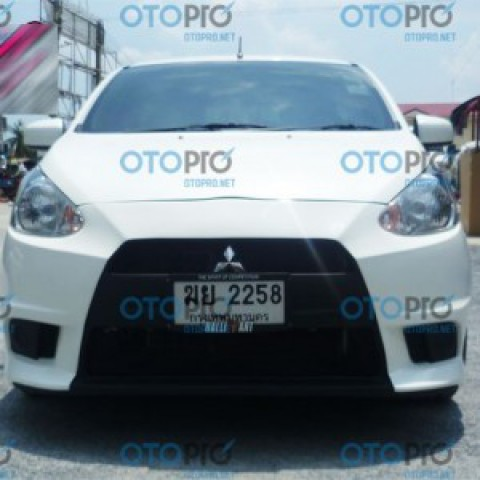 Bodylips trước cho Mitsubishi Mirage mẫu EVO X Thái Lan
