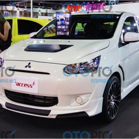 Bodylips cho Mitsubishi Mirage mẫu Access Thái Lan