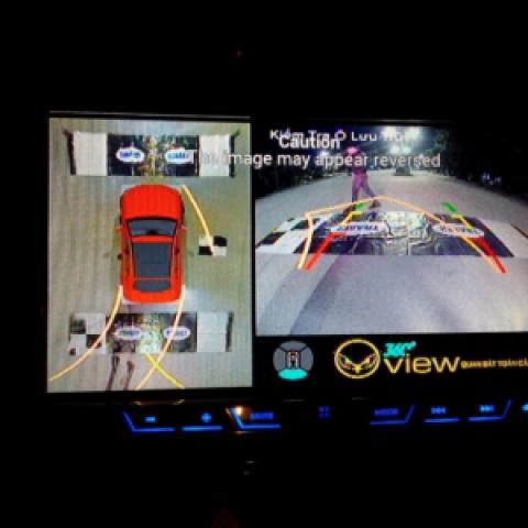 Camera 360 cho xe Mitsubishi Outlander