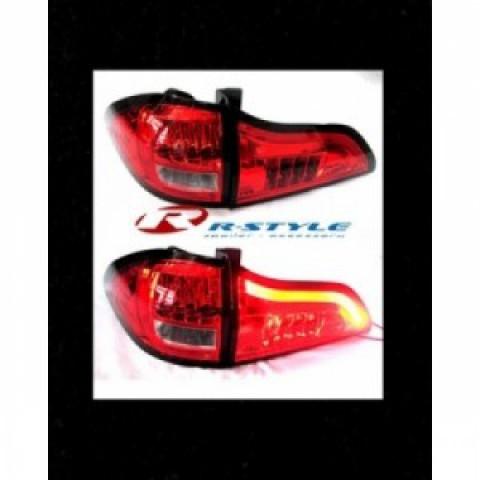 Đèn hậu LED mẫu 1 Pajero Sport 2012