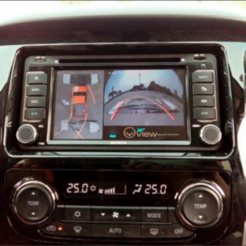 Camera 360 cho xe Mitsubishi Triton