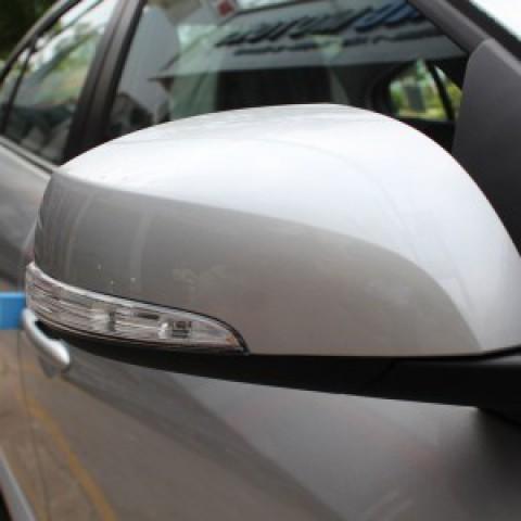 Độ gập gương điện tự động cho xe Mitsubishi Triton